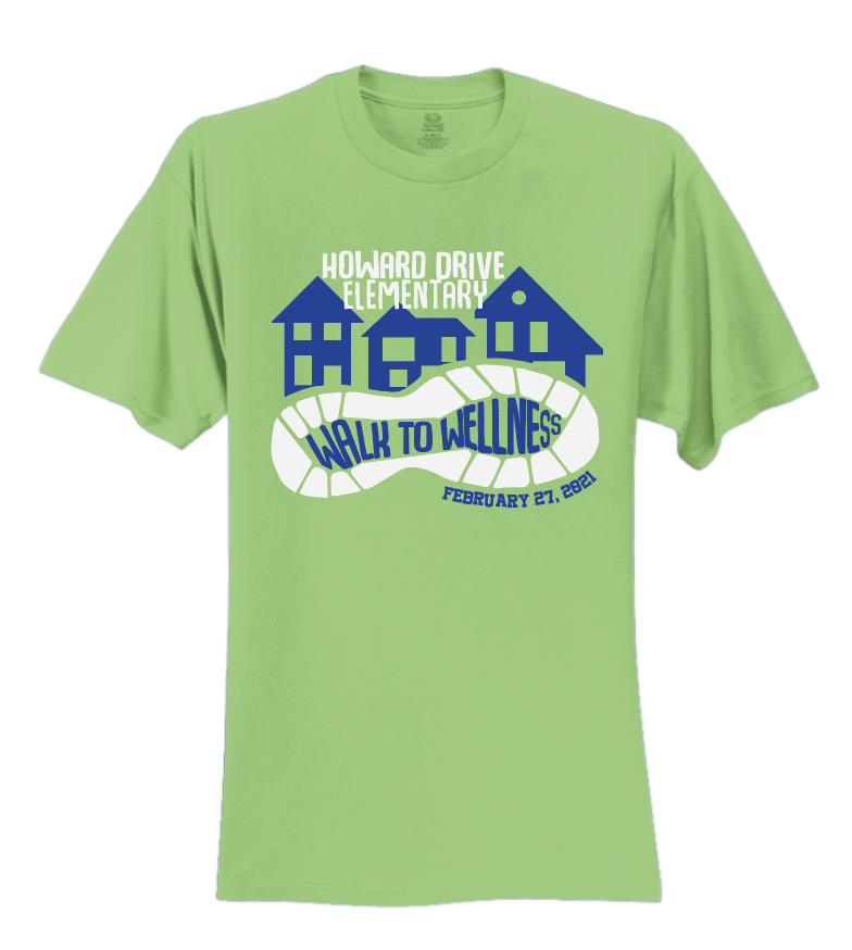 Kids Walk to Wellness Shirt